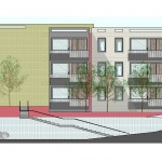 8 + 12 Apartments_Elevation and Part Section