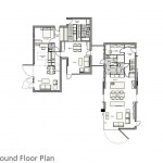 Multi-Generational House_Ground Floor Plan